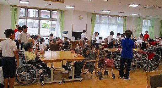 安井小学校6年生 交流体験学習