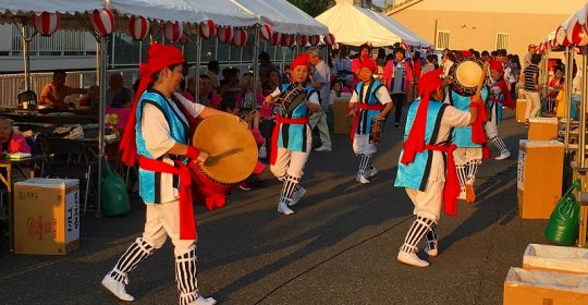 大東夏祭り…地域交流事業