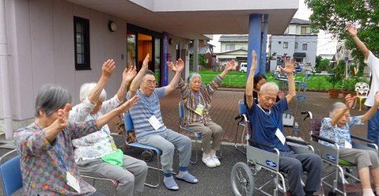 子供たちの夏休み…ラジオ体操