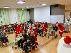 クリスマス会…ひだまりライフ大東・大東デイサービスセンター