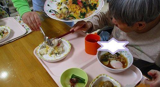 大東家の食卓…ちらし寿司バイキング