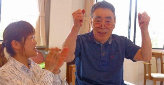 お手玉ダーツ…大東グループホーム