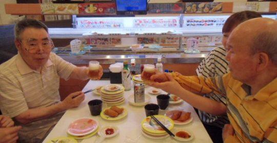 かっぱ寿司に行ってきました!…大東グループホーム