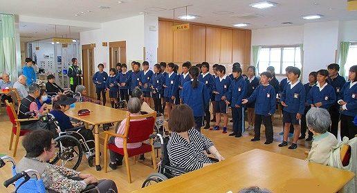安井小学校6年生の皆様との交流会♪
