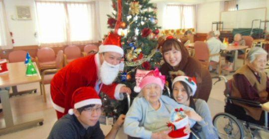 クリスマス会♪…大東グループホーム
