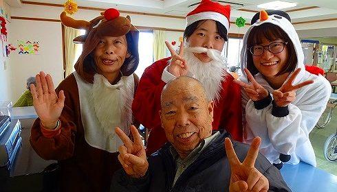 サンタクロースがやってくる♪…ゴールドライフ大東