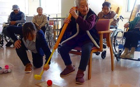 メモリア大垣杯…パターゴルフゲーム♪