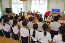 安井小学校6年2組交流会体験学習
