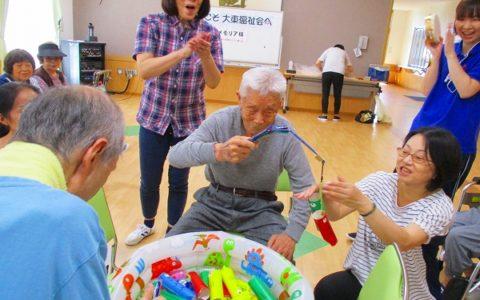 メモリア大垣杯…わくわく魚釣りゲーム♪