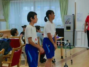 職場体験学習の受入…大垣東中学校