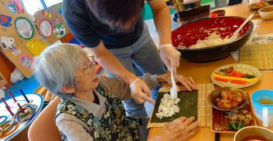 手巻き寿司 グループホーム