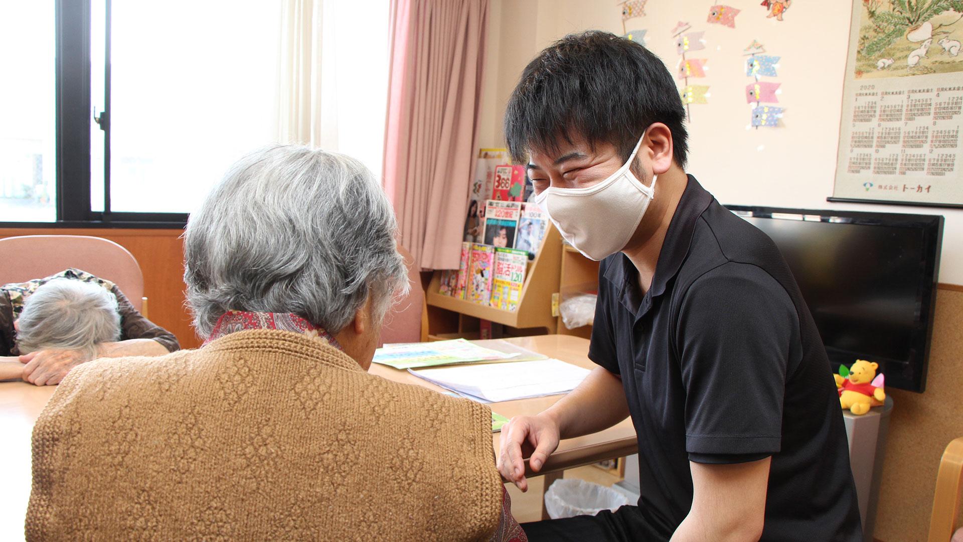 介護士 川瀬浩義