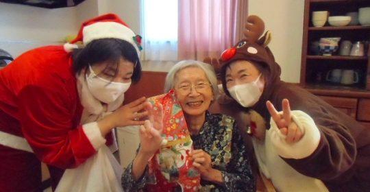 クリスマス会を行いました! 大東グループホーム