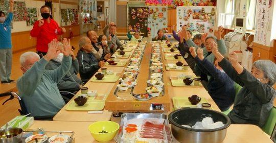 回転寿司 ~ひだまりライフ大東5周年~