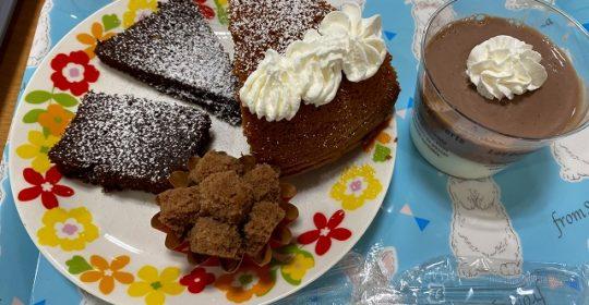 おもてなしおやつ チョコケーキ・蒸しパン