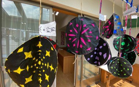 花火ボール作り-クラフト